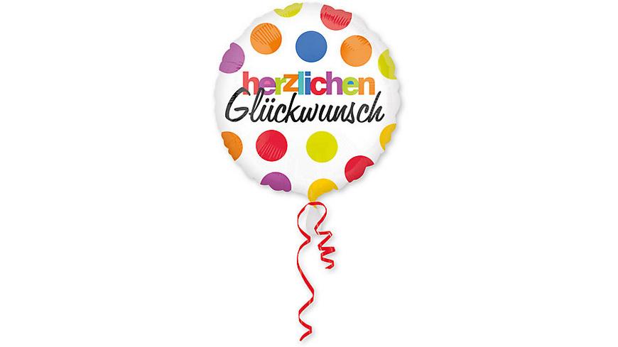Folienballon Herzlichen Glückwunsch