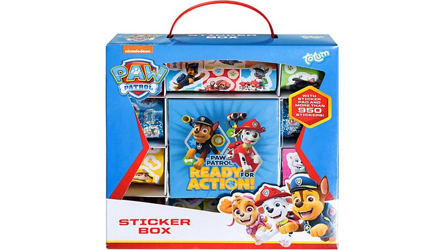 PAW Patrol Stickerbox, 1.000 Sticker