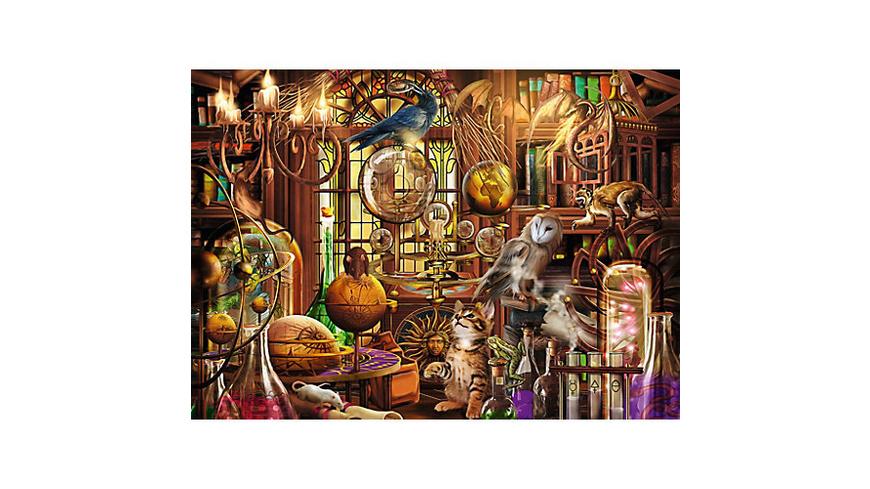 Puzzle 1000 Teile, 70x50 cm, Merlins Labor