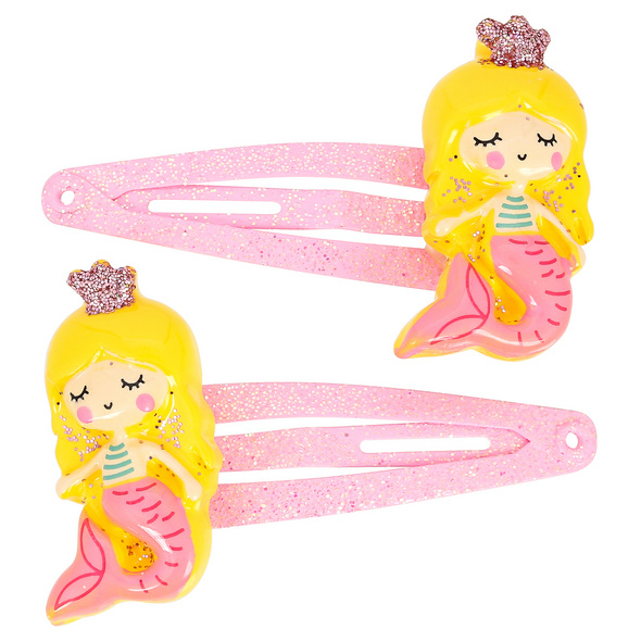 Haarspangen-Set - Yellow Mermaids