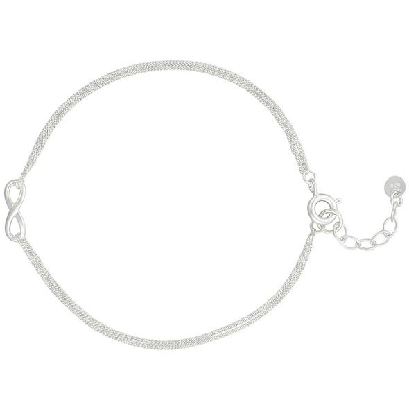 Armband - Silver Infinity
