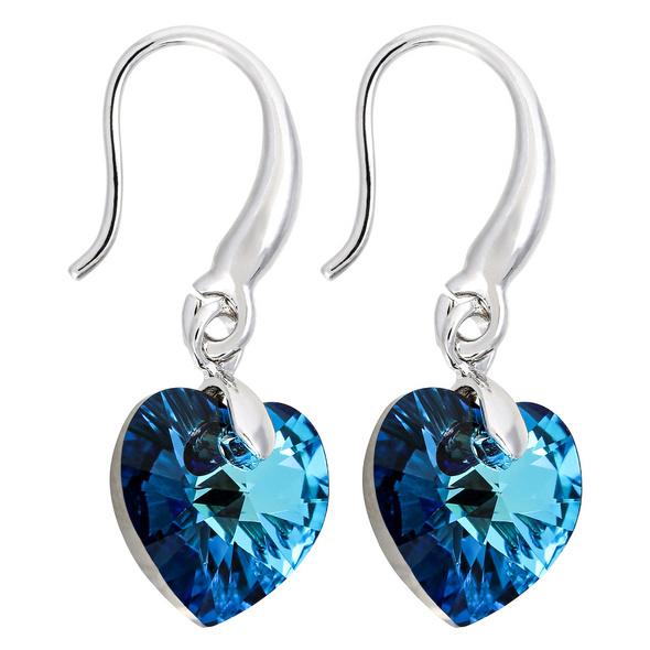 Ohrhänger - Blue Heart