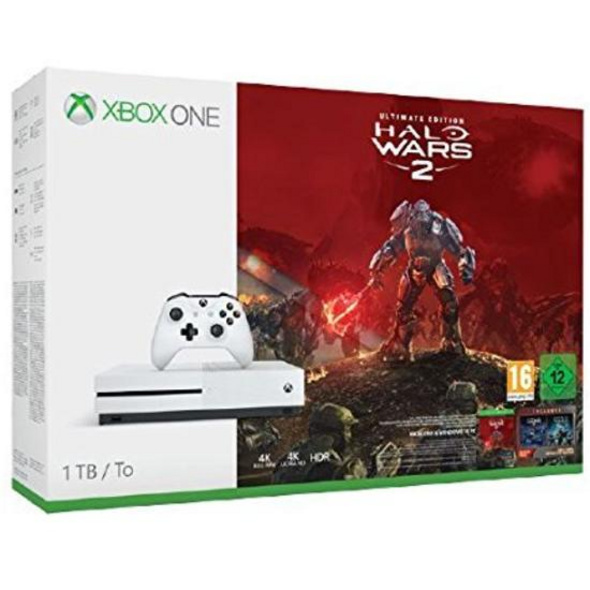 Xbox One S Konsole 1TB inkl. Halo Wars 2