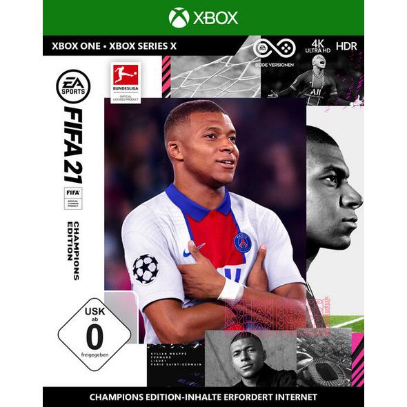 FIFA 21 Champions Edition - (inkl. kostenlosem Upgrade auf Xbox Series X)