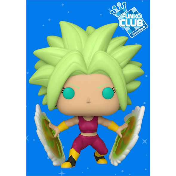 Dragon Ball Super - POP!-Vinyl Figur Kefla (Funko Club exklusiv!)
