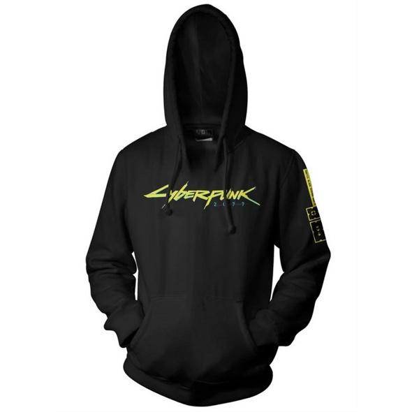 Cyberpunk 2077 - Logo Hoodie (Größe L)