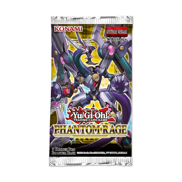 Yu-Gi-Oh! Trading Card Game: Phantom Rage Booster Pack