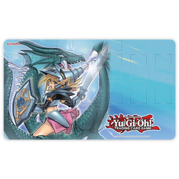 Yu-Gi-Oh! Trading Card Game - Dunkles Magier-Mädchen, die Drachenritterin Gamemat