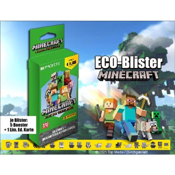 Minecraft - Sammelkartenspiel Eco-Blister