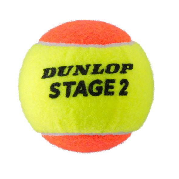 Dunlop STAGE 2 ORANGE Tennisball Kinder