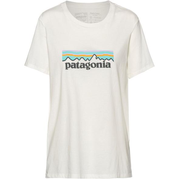 Patagonia Pastel P-6 Logo Organic Crew T-Shirt Damen