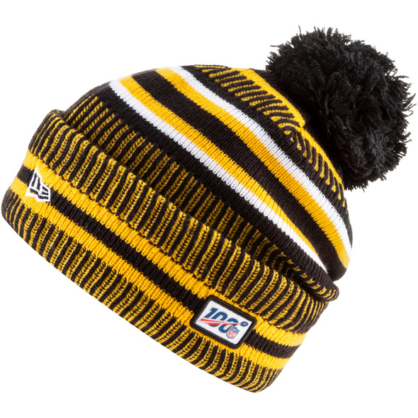 New Era Pittsburgh Steelers Bommelmütze