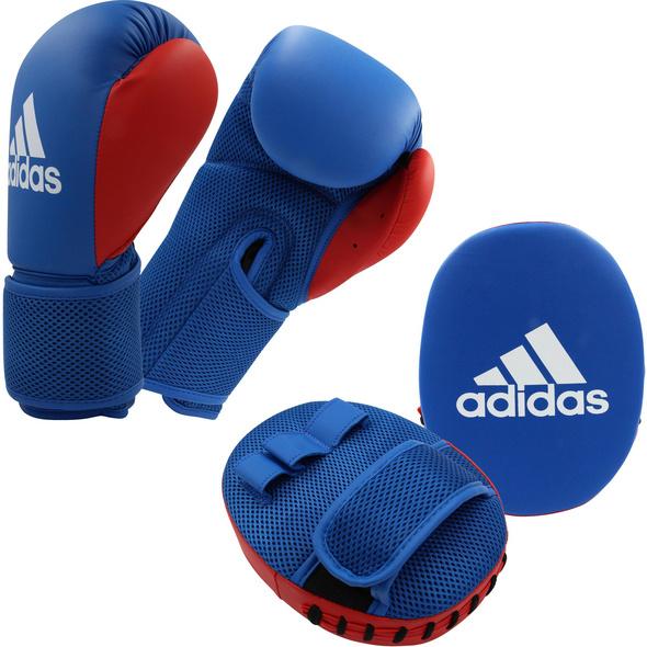 adidas Boxset Handschuhe+Pratze Boxhandschuhe Kinder