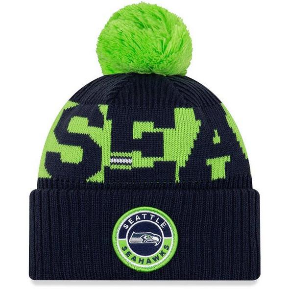 New Era Seattle Seahawks Bommelmütze