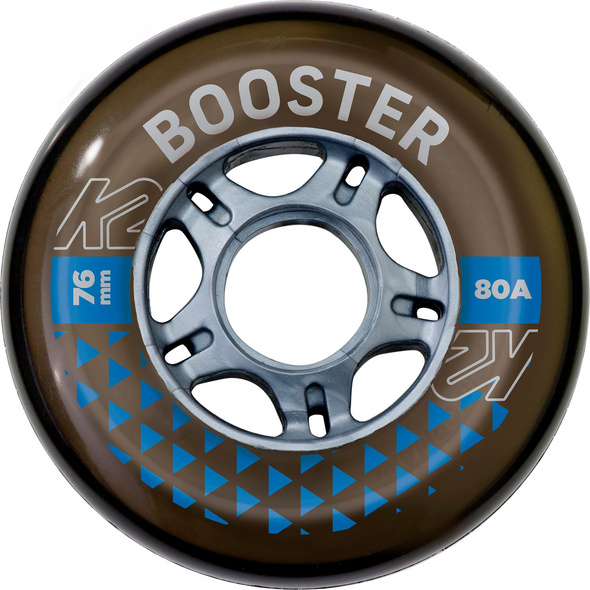 K2 BOOSTER 76MM 80A 8-WHEEL PACK W ILQ 5 Inliner-Rollen