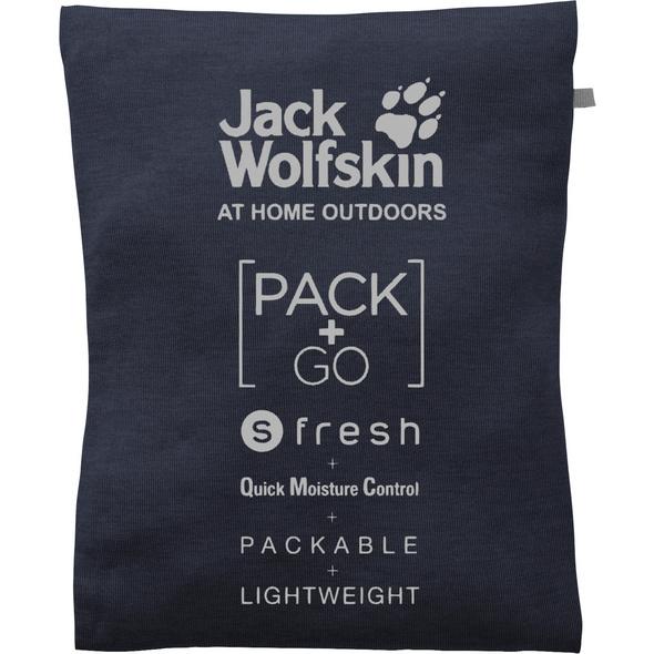 Jack Wolfskin Pack and Go JWP 3/4 Funktionsshirt Damen