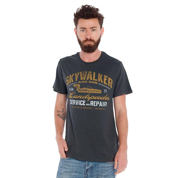 Star Wars - Landspeeder T-Shirt grau