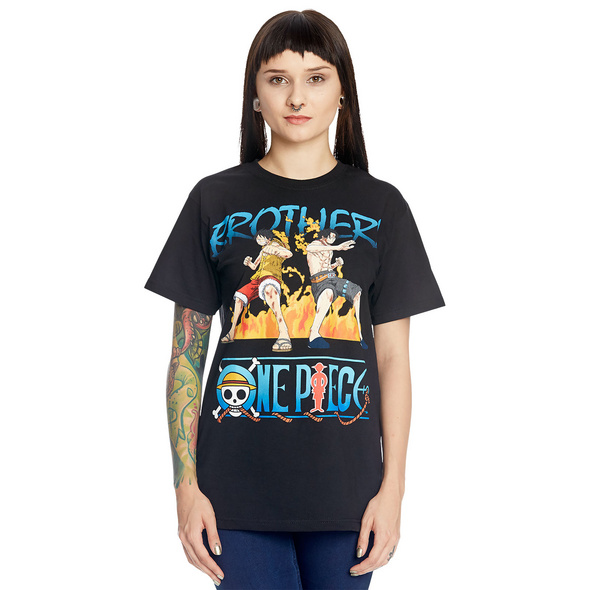 One Piece - Brothers T-Shirt schwarz