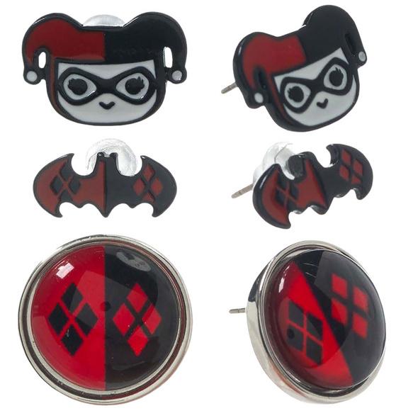 Harley Quinn - Ohrstecker Set