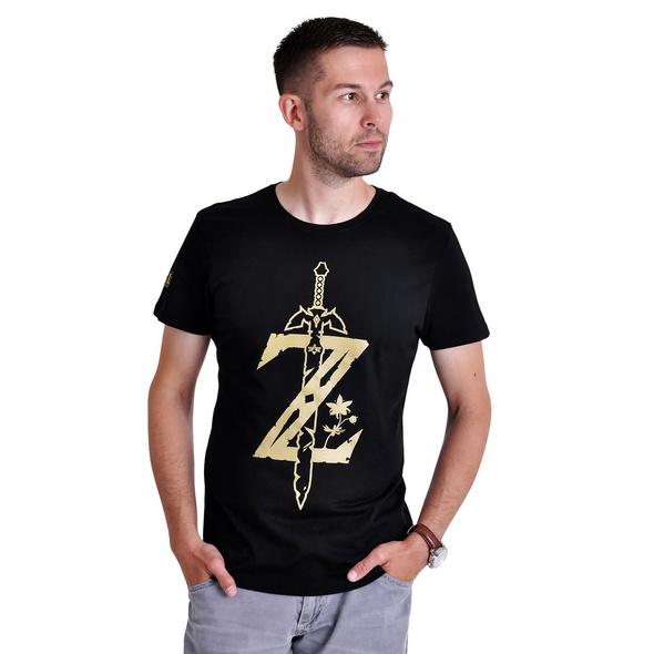 Zelda - Sword Logo T-Shirt schwarz