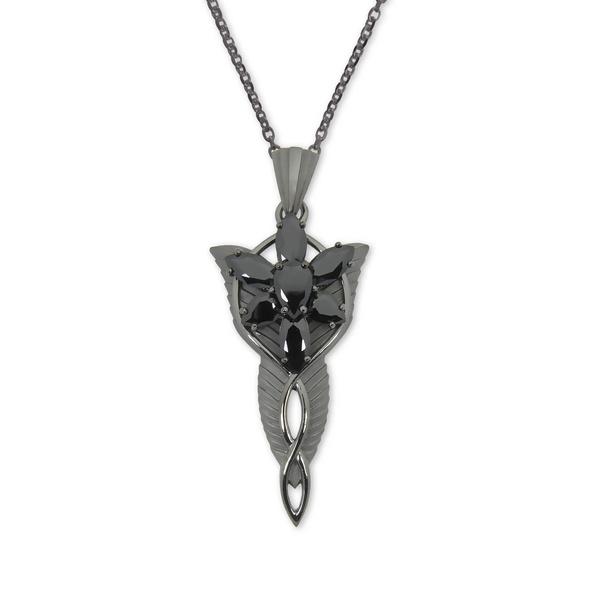 Arwens Abendstern mit Collierkette schwarz Dark Years Collection