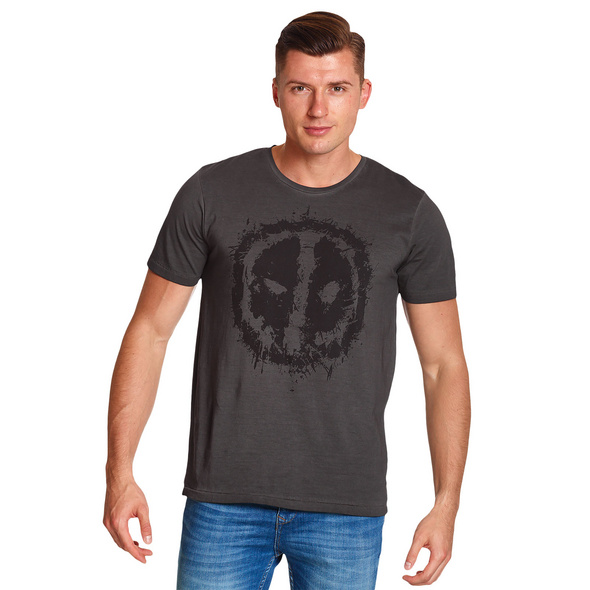 Deadpool - Eyes T-Shirt grau