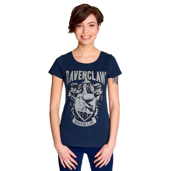 Harry Potter - Ravenclaw Wappen T-Shirt Damen blau