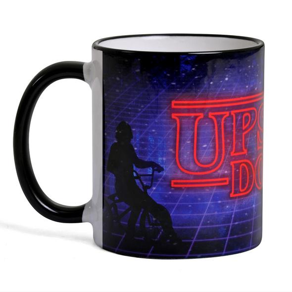 Upside Down Tasse für Stranger Things Fans