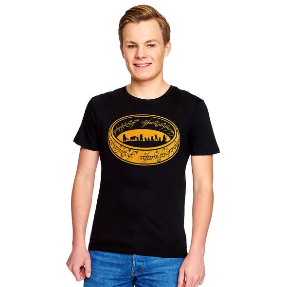Herr der Ringe - Gefährten des Rings T-Shirt schwarz