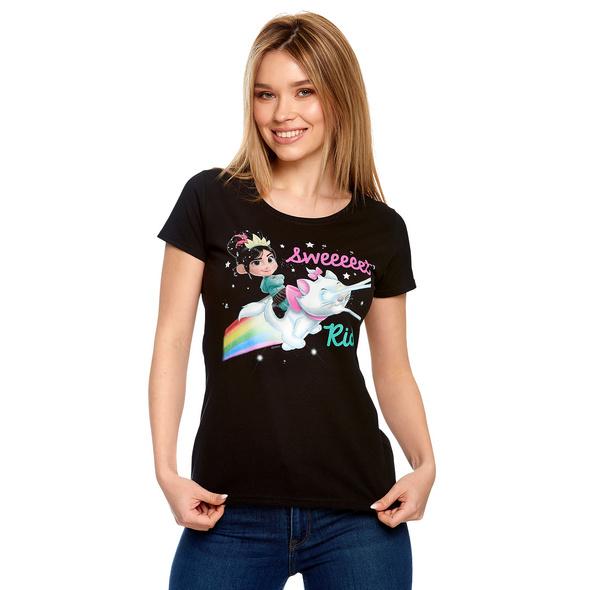 Ralph reichts - Vanellope Sweet Ride T-Shirt Damen schwarz