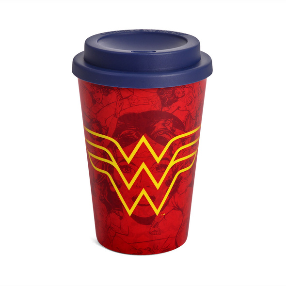 Wonder Woman - Logo To Go Becher