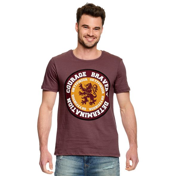 Harry Potter - Gryffindor Values T-Shirt rot