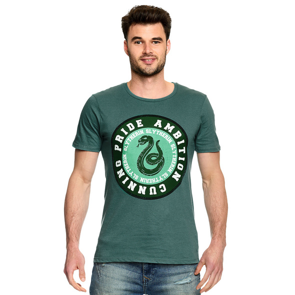 Harry Potter - Slytherin Values T-Shirt grün