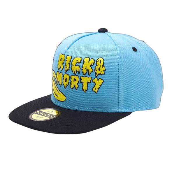 Rick and Morty - Banana Snapback Cap