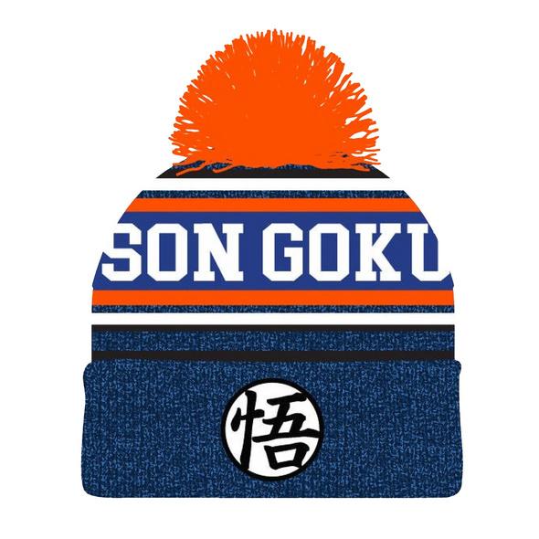 Dragon Ball Z - Son Goku Mütze mit Bommel