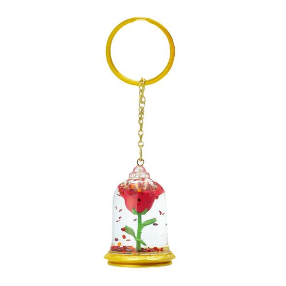 Die Schöne und das Biest - Enchanted Rose Schlüsselanhänger