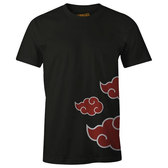 Naruto - Akatsuki T-Shirt schwarz
