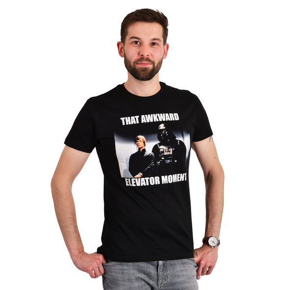Star Wars - Elevator Moment T-Shirt schwarz