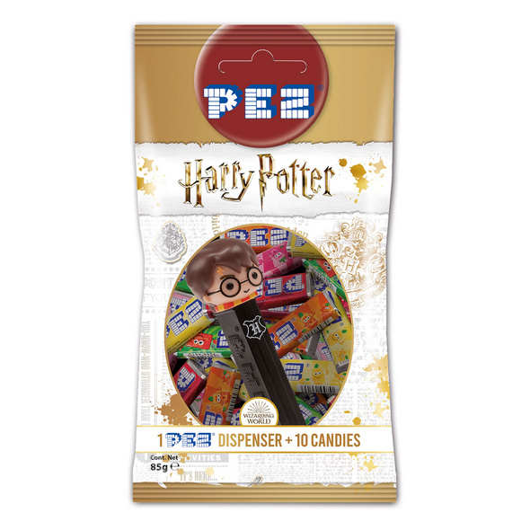 Harry Potter - PEZ Bonbons 10er Pack mit Spender