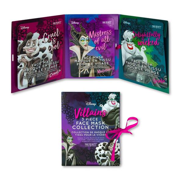 Disney - Villains Sheet Masken 3er Set