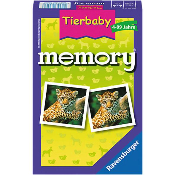Mitbringspiel memory®, 48 Karten (24 Paare), Tierbaby