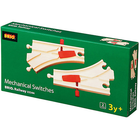 Mechanische Weichen - 2 Stück