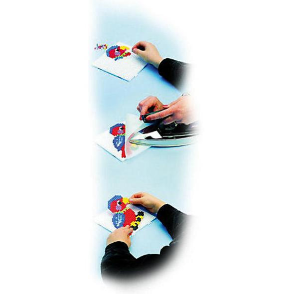 HAMA 201-54 midi-Perlen, 3.000 Stück, Glitter-Mix