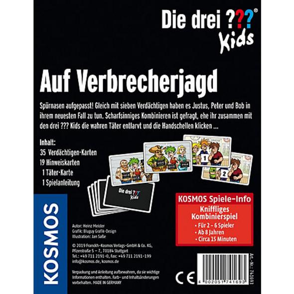 Kartenspiel ??? Kids Auf Verbrecherjagd