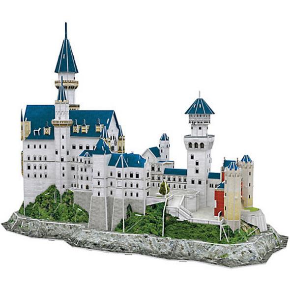 3D-Puzzle Schloss Neuschwanstein, 121 Teile