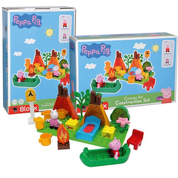 BIG-Bloxx Peppa Pig Camping Set