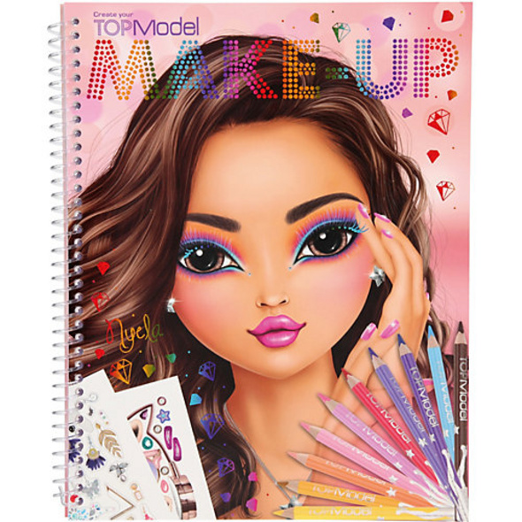Create your TOPModel Make-Up -  Malbuch