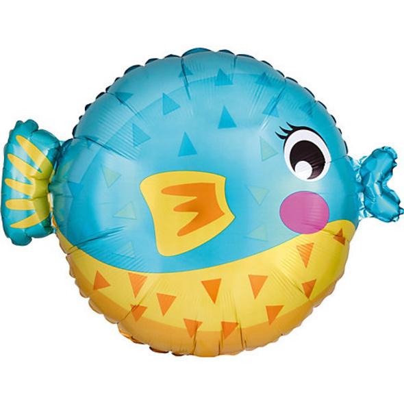 Folienballon Junior Shape Kugelfisch