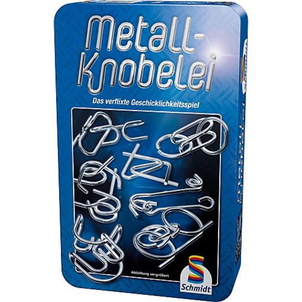 Mitbringspiel Metall-Knobelei - Metalldose