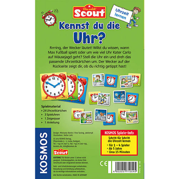 Scout Kennst du die Uhr?